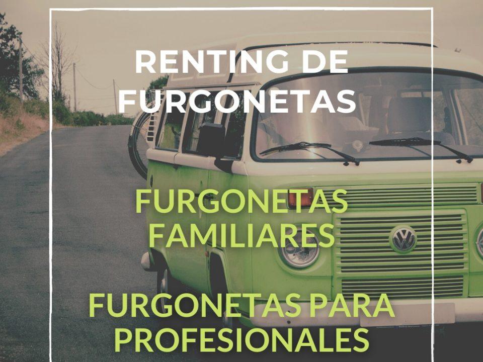 Renting de furgonetas